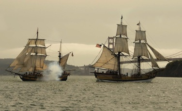 SF Bay Galleon Battle